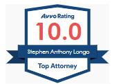 Stephen Longo Avvo badge